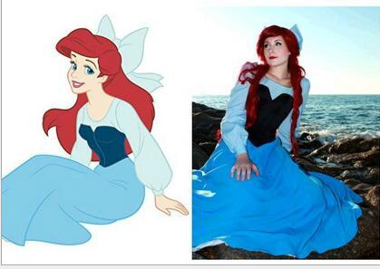 The Little Mermaid: Ariel Costume