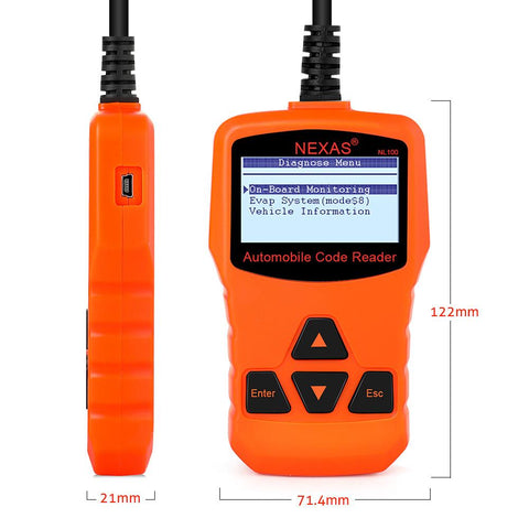 Auto Diagnostic OBD II Code Scanner