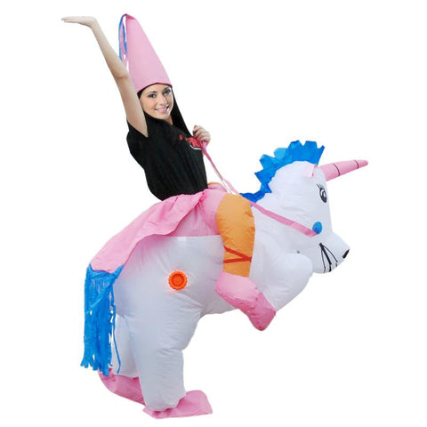 Inflatable Dinosaur Unicorn Cowboy Costumes