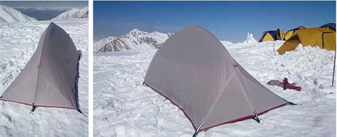 ... 2.6 lb Ultralight 1-2 Person 4 Season Backpacking Tent ... : ultralight winter tent - memphite.com