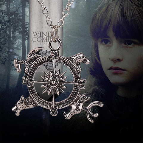 Game of Thrones:  Compass Necklace Song of Ice and Fire