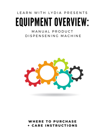 Manual Product Dispensing Machine