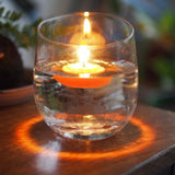 Beeswax candle - Floating Flower