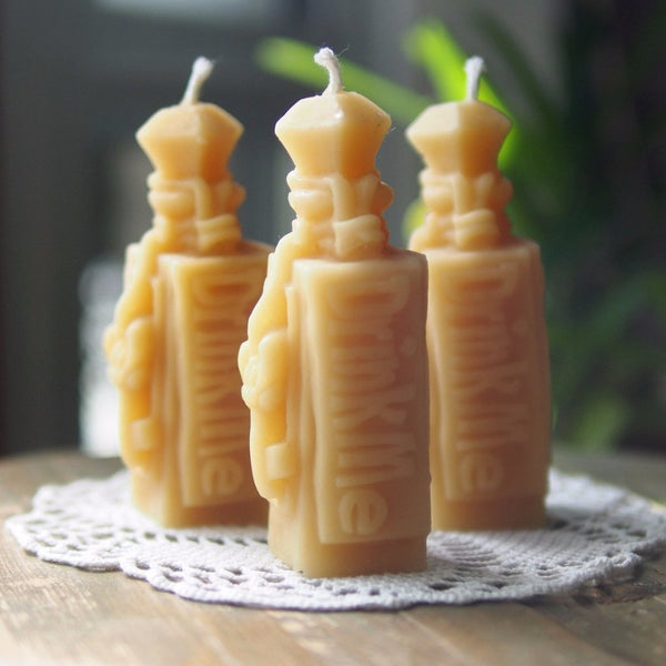 Beeswax candle - Drink Me Potion