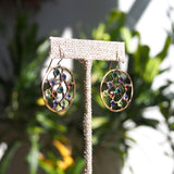 "Earrings ""Dew in the Mead"""