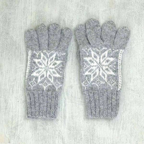 Hand knitted Gloves - Auseklis