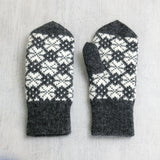 Hand knitted Latvian Mittens - Krusts