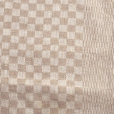 Linen Kitchen Towel - Natural Check