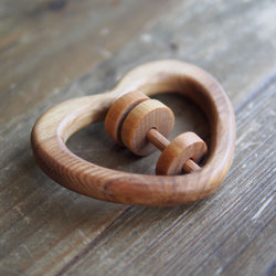 Wooden Toy Rattle