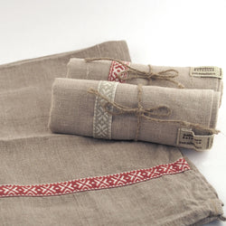 Linen Kitchen Towel - Ribbon