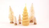 Beeswax candle - Spiral