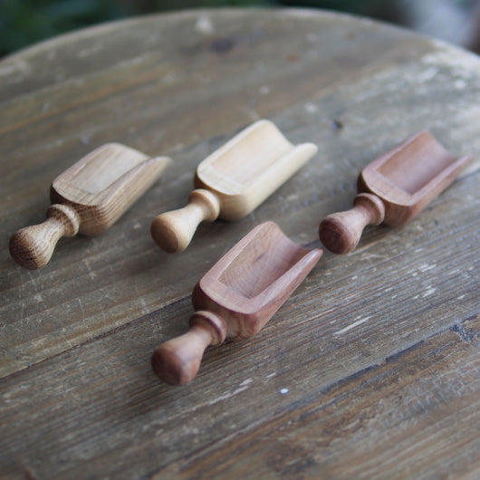 Wooden Tea Scoop S