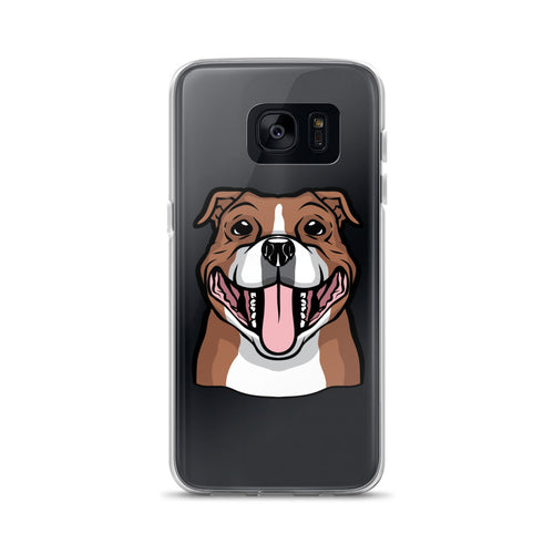 Proud Owner of a Rescue Staffie - Samsung Case S7, S7 Edge, S8, S8+