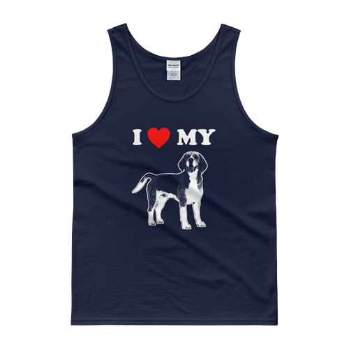 I Love My Beagle - Men's Tank Top