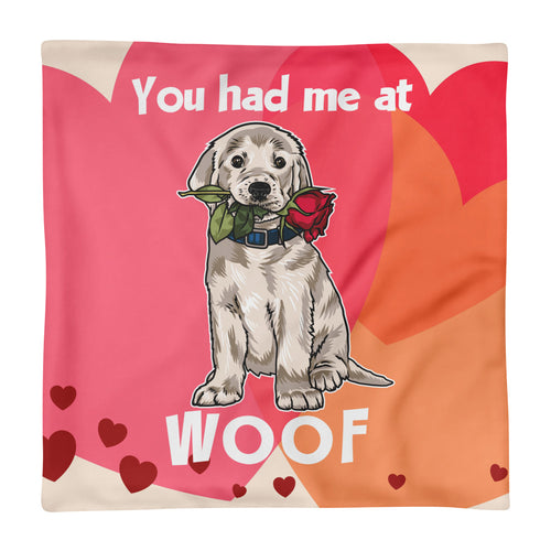 The Woofy Cushion Pillow Case - Square Pillow Case only