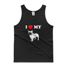 I Love My Frenchie - Men's Tank Top