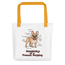 Anatomy of a Frenchie - Tote bag