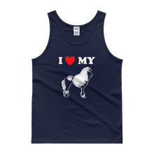 I Love My Poodle - Men's Tank Top