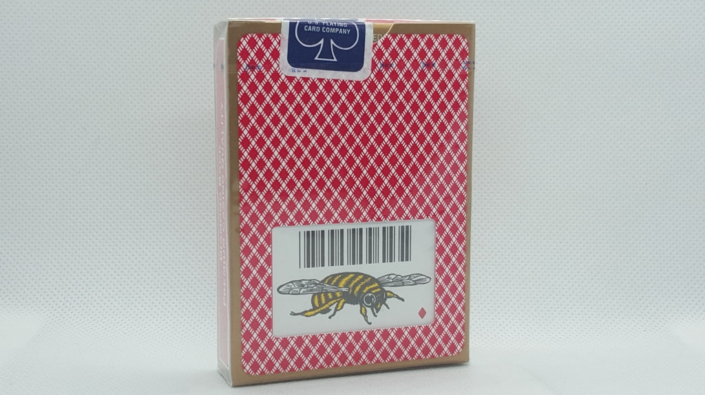 Bee Premium - Bumble Bee Logo - Red - Ohio Made