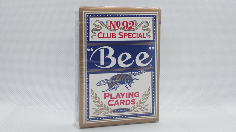 Bee Premium - Diamond Back - Blue - Red Seal