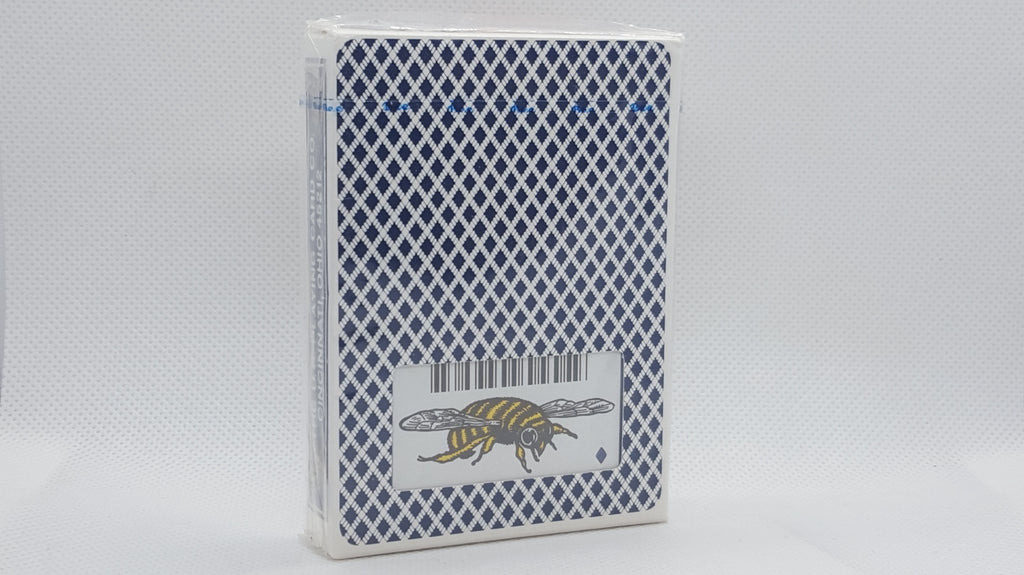 Bee - Bumble Bee Logo - Blue - Ohio Made Red Seal - Long Flap