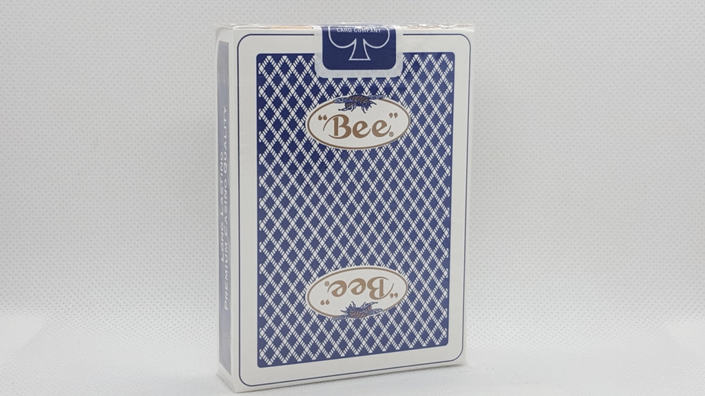 Bee Premium Casino - Bordered Bee Logo - Blue - Ohio Made
