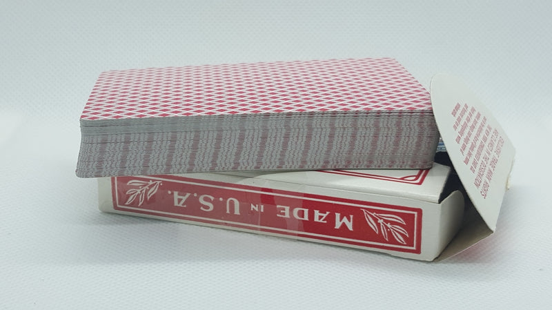 Diamond Back Narrow - Red - Tax Stamp - Open
