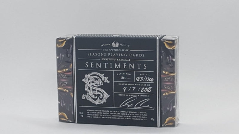 Apothecary Seronda Sentiments - Black Label