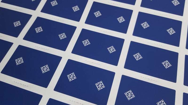 Rounders - Blue - Uncut Sheet