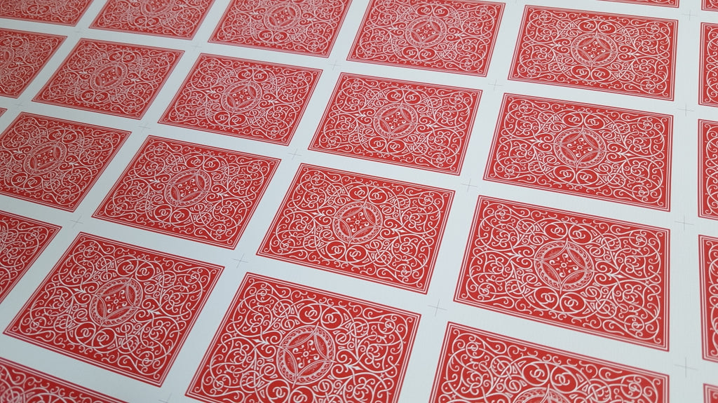 Superior Classic - Red - Uncut Sheet