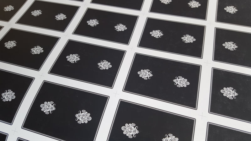 Zen Pure - Black - Uncut Sheet
