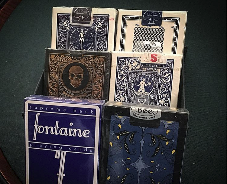 Instant Collection 6-Deck Box Set - Blue Edition