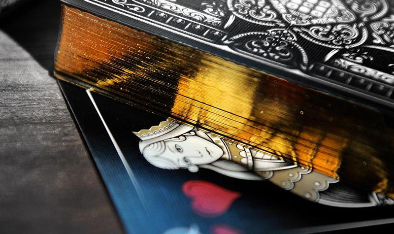 National Playing Card Collection Day - 2017 - Midnight Gold - Signed