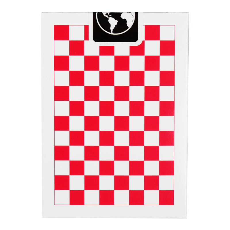 Checkerboard - Red