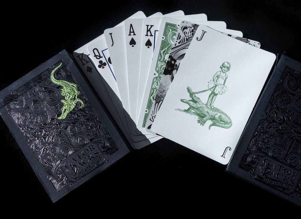 Gatorbacks - Green Foil