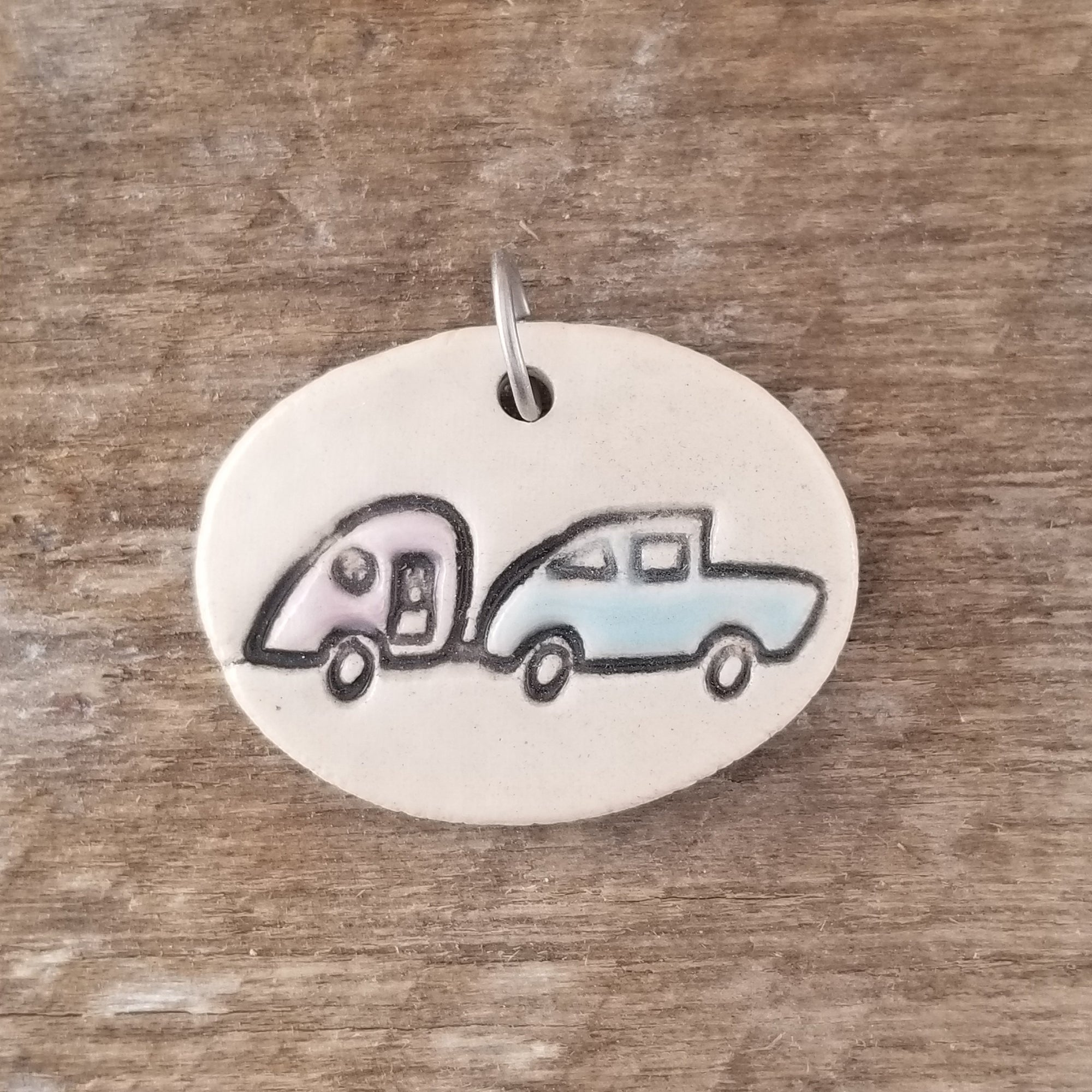 Car Trailer Everyday Pendant - Cheryl Stevens Studio