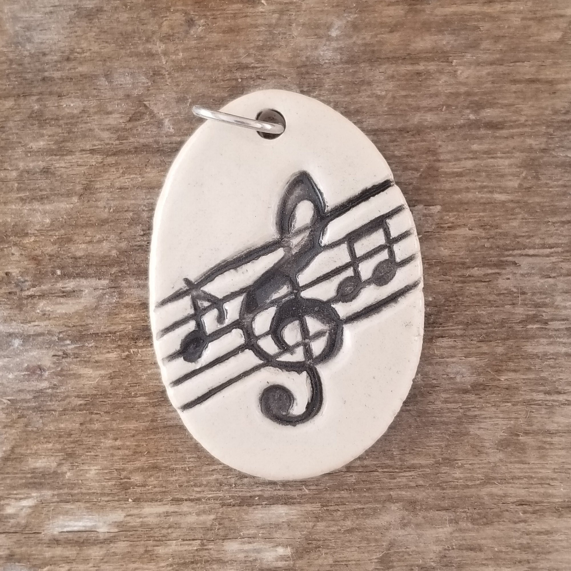 Music Note Everyday Pendant - Cheryl Stevens Studio