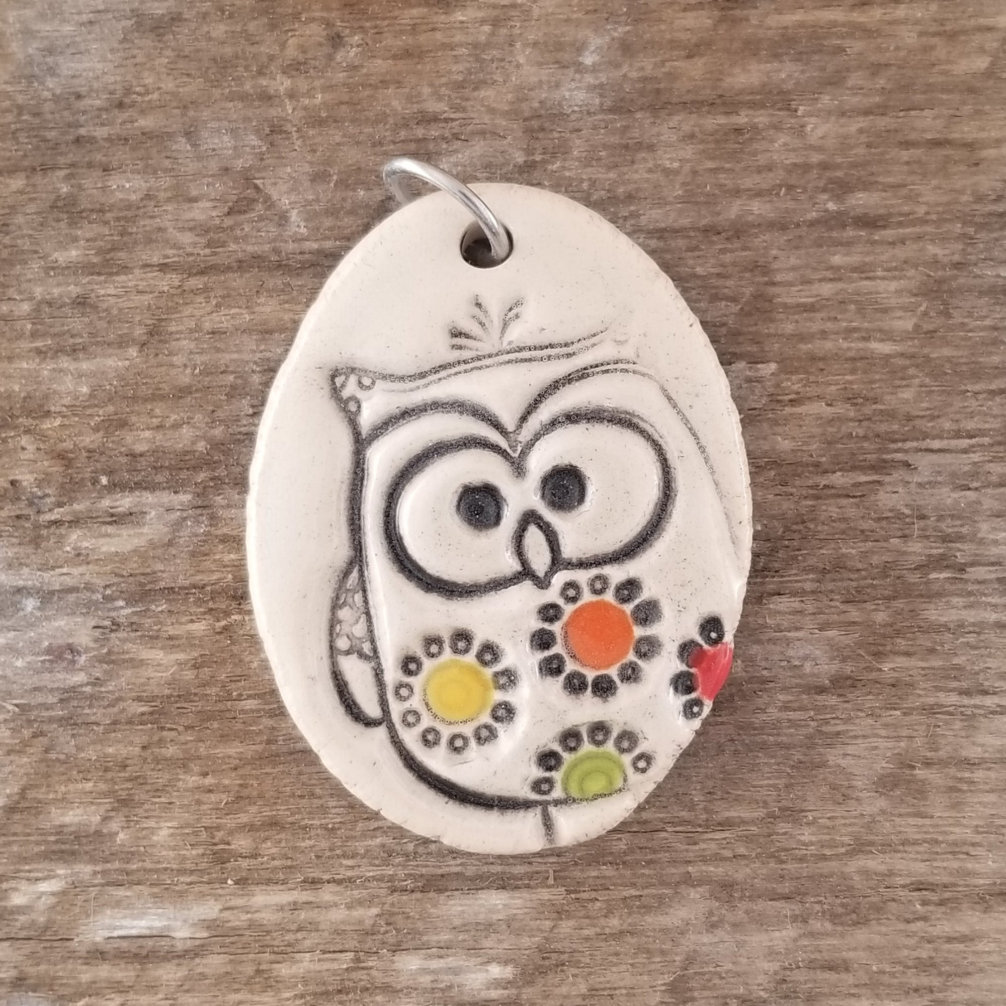 Warm Owl Everyday Pendant - Cheryl Stevens Studio