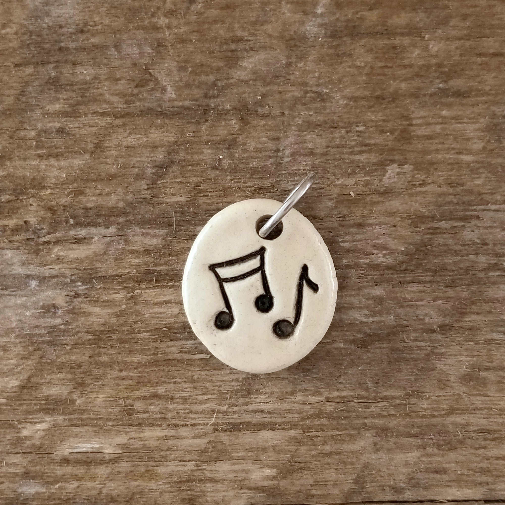 Music Note Mini Pendant - Cheryl Stevens Studio