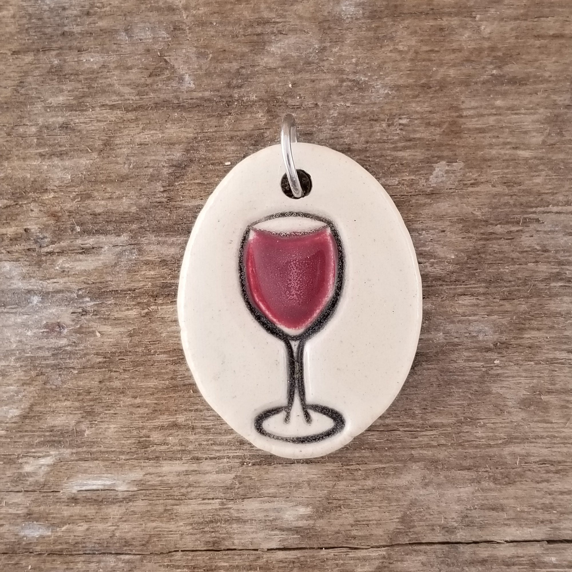 Red Wine Small Pendant - Cheryl Stevens Studio