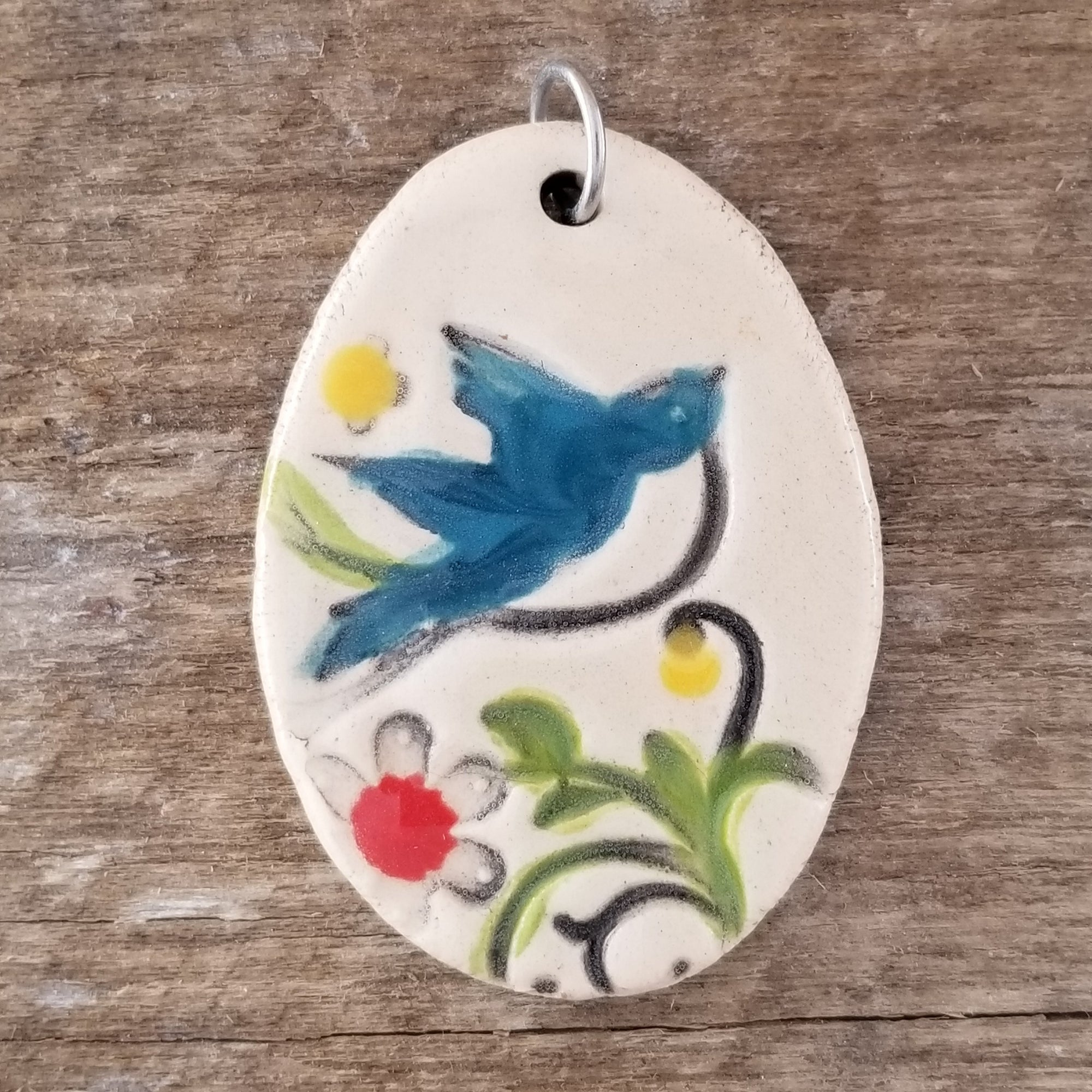 Peace Dove Statement Pendant - Cheryl Stevens Studio