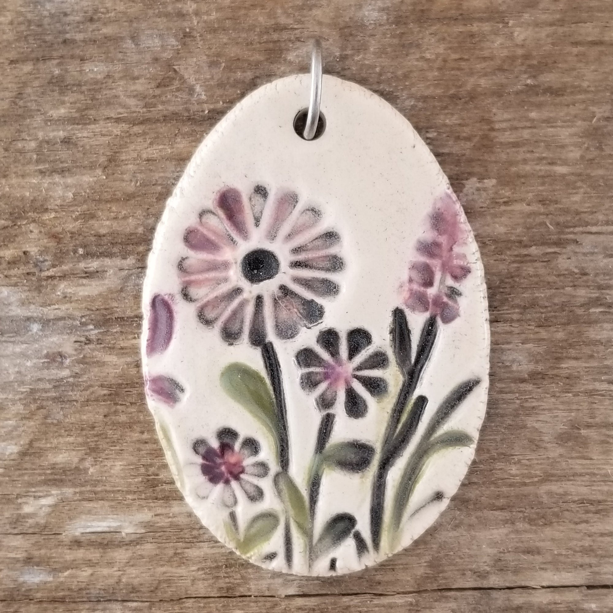 Dusty Wendy's Garden Statement Pendant - Cheryl Stevens Studio