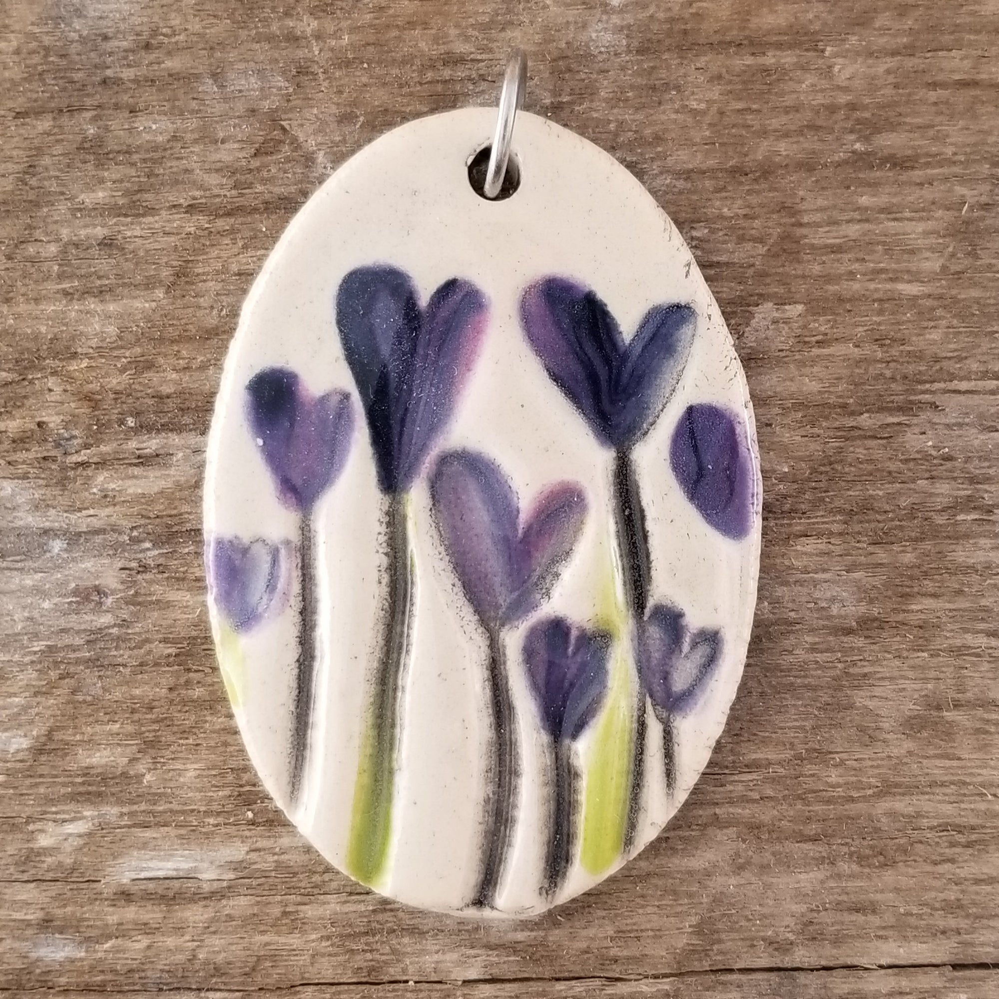 Purple Creations Statement Pendant - Cheryl Stevens Studio