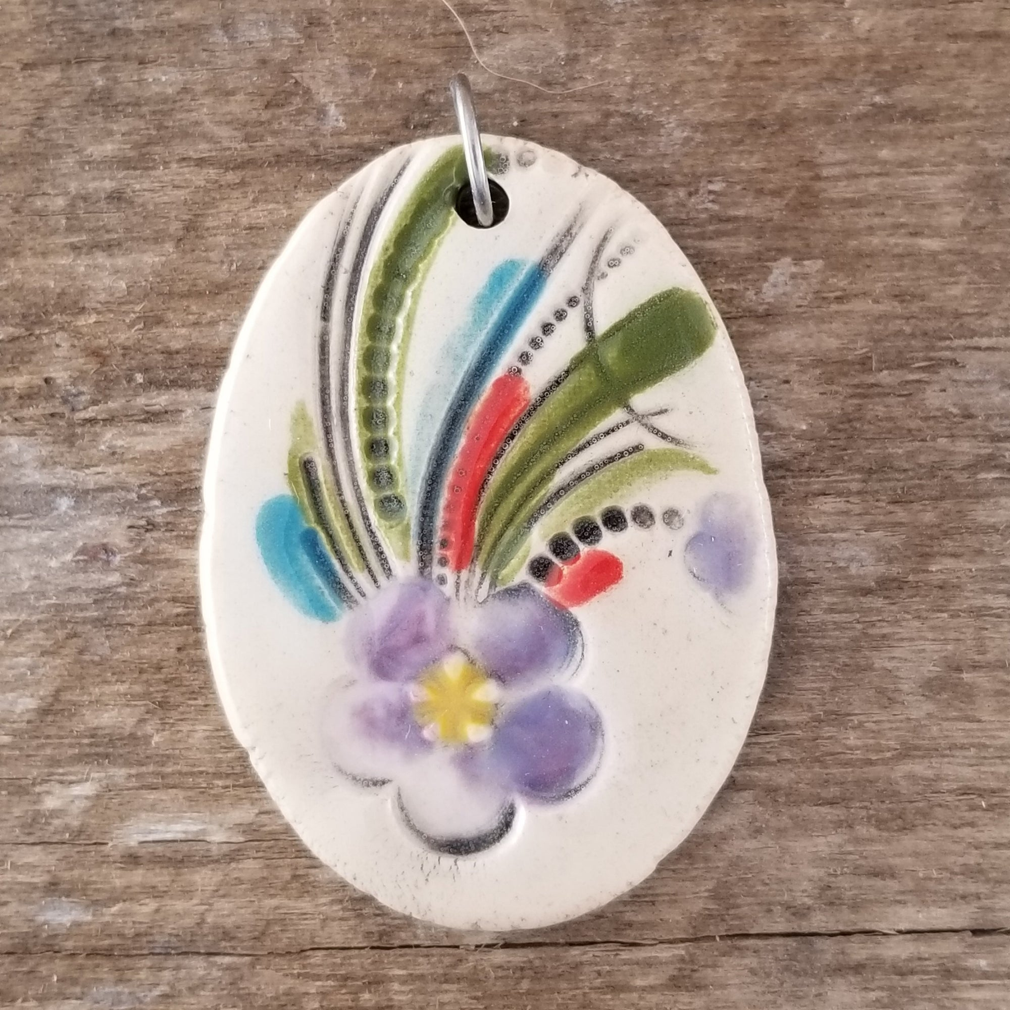 Purple Spray Statement Pendant - Cheryl Stevens Studio