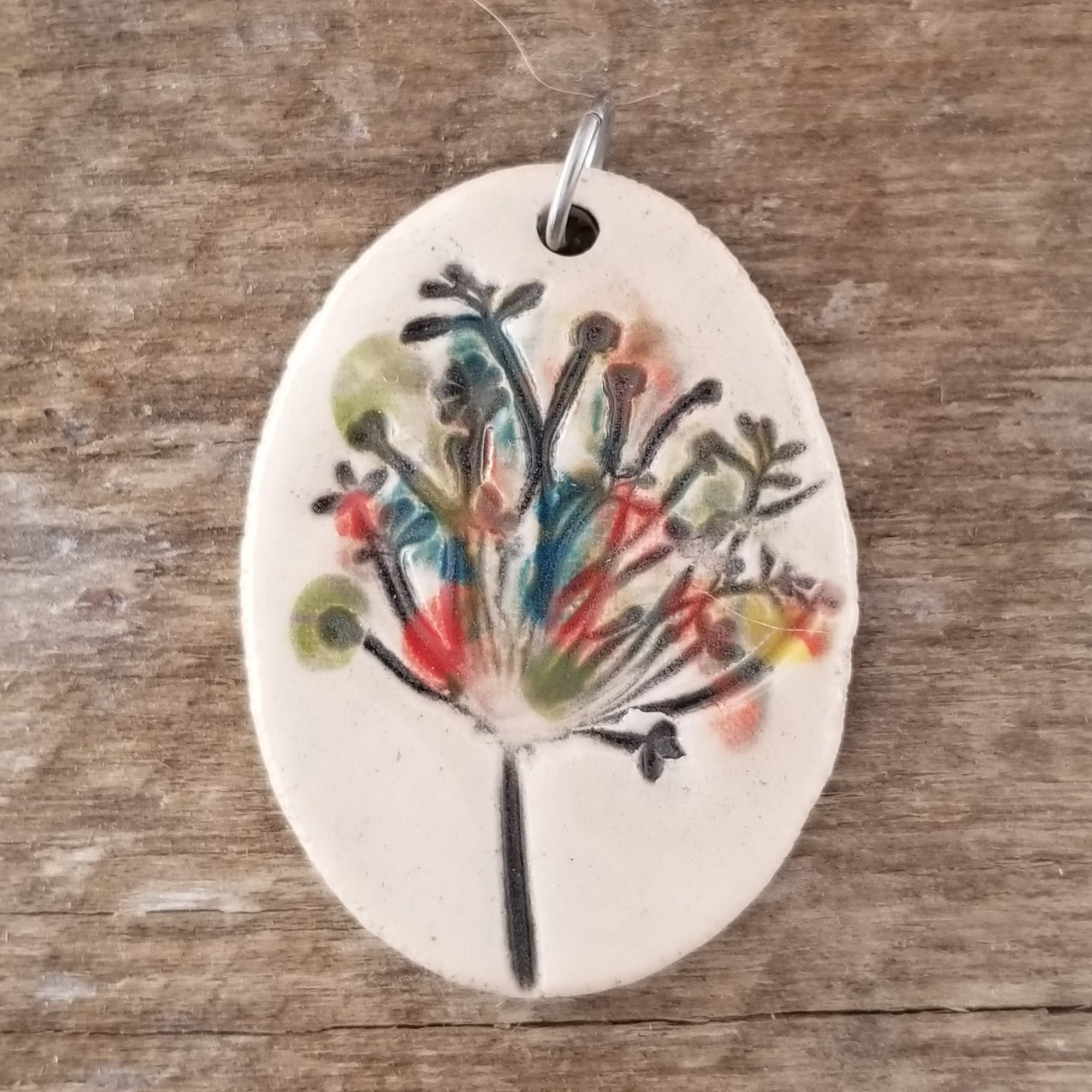 Queen Anne's Lace Statement Pendant - Cheryl Stevens Studio