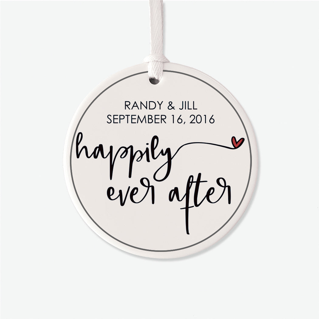 Happily Ever After Personalized Ornament