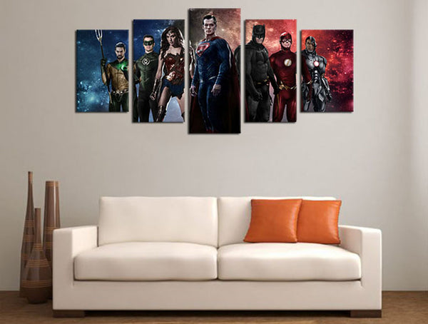 batman movie canvas art