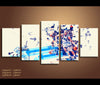 5 Piece Canvas Art Dallas Mavericks Basketball Canvas Wall Art Decor