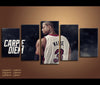 5 Piece Canvas Art Dwyane Wade Basketball Canvas Wall Art Decor