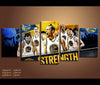 5 Piece Canvas Art Golden State Basketball Canvas Wall Art Decor